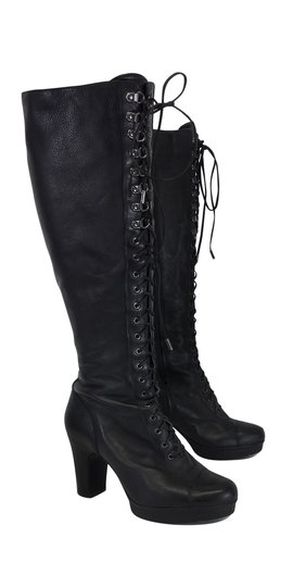 Preload https://img-static.tradesy.com/item/20611528/kenneth-cole-black-leather-lace-up-bootsbooties-size-us-85-regular-m-b-0-0-540-540.jpg