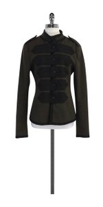 Marc Jacobs Olive Black Wool Jacket