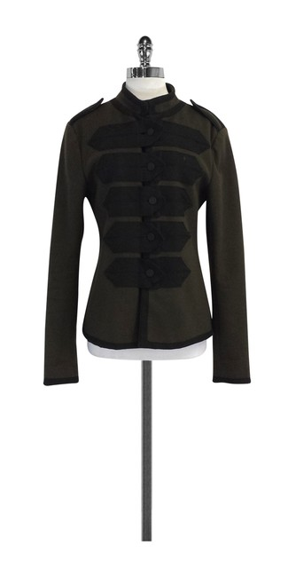 Marc Jacobs Wool Olive & Black Jacket