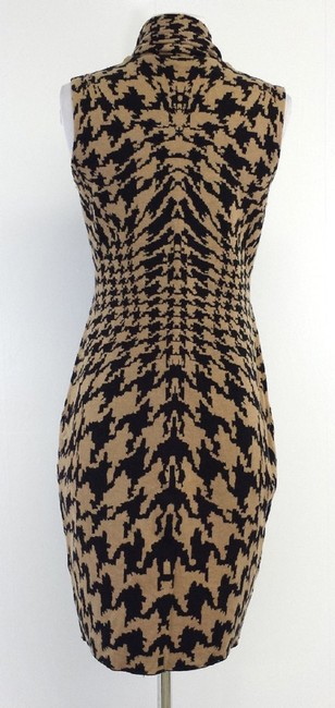 Other short dress Black & Tan Wool Printed on Tradesy