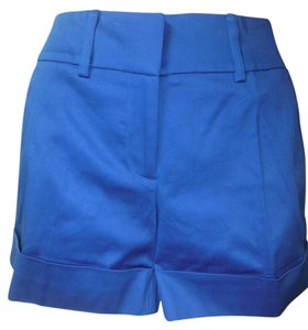 New York & Company Cuffed Shorts residential blue