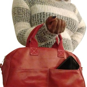 Apt. 9 Satchel in Red