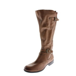 Naturalizer Nwob Jovana N5 Tall Riding Genuine Leather Brown Boots