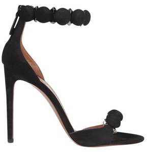 ALAÏA Suede Sandals 110mm black Pumps