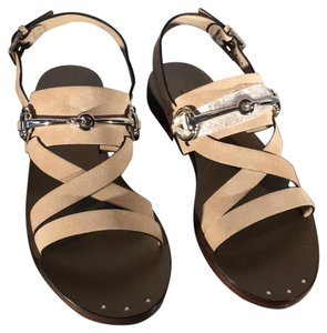 Gucci Neutral Sandals
