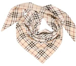 Burberry House Check Triangle Neck Scarf