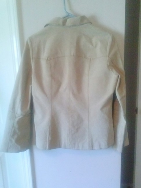 Other Classic Sexy Casual Coats Basic Preppy Boho Career Tan 8 9 10 Simple Punk Rock Chic Everyday All Season Fine Deal Sale tan,beige Leather Jacket