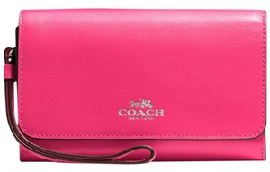 Coach Coach Phone Clutch in Calf Leather