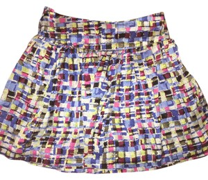Kensie Mini Skirt blue pink black
