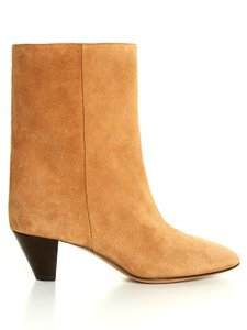 Isabel Marant Suede Ankle Tan Boots