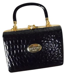 G. Versace black Clutch
