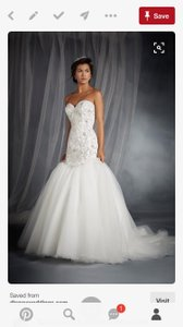 Alfred Angelo Disney Princess Collection Ariel 249 Wedding Dress