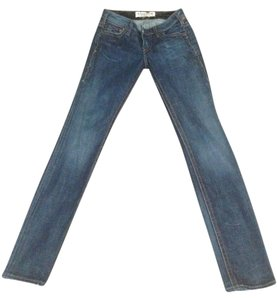 1921 Jeans Straight Leg Jeans-Medium Wash