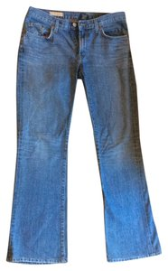 Red Engine Low Waist Light Wash Boot Cut Jeans-Light Wash