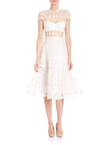 Alexis Kayla Floral Embroidered Dress Wedding Dress
