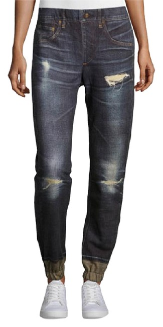 Item - Blue Medium Wash Pajama Relaxed Fit Jeans Size 28 (4, S)