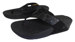 FitFlop Sequin New With Tag black Sandals