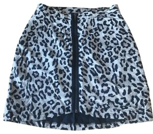 Urban Outfitters Mini Skirt gray and black