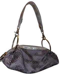 Kathy Van Zeeland Shimmer Hardware Detachable Strap Shoulder Bag