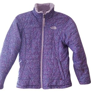 The North Face Kids Fluffy Purple Jacket