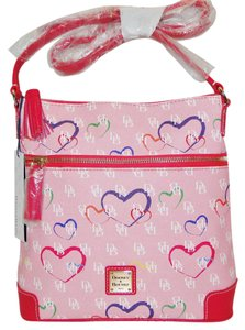Dooney & Bourke Sweetheart Coated Cotton Lined Cross Body Bag