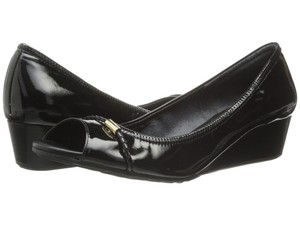 Cole Haan Black (patent leather) Wedges