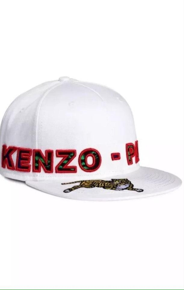 c0cbd9bfc06 ... KENZO x H M MENS White Jungle Paris Fitted limited CAP SIZE Med 7.  1234567
