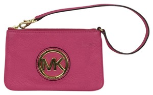 Michael Kors Wristlet in hot pink