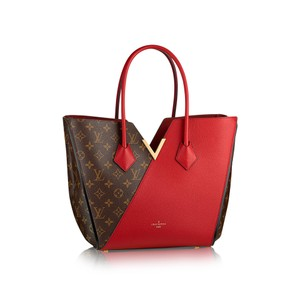 Louis Vuitton Tote in Red, Brown