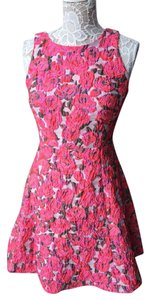 Kate Spade Rose Brocade Bow Prom Dress