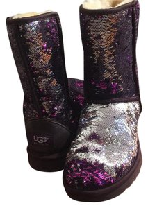 UGG Australia Purple and silver Boots