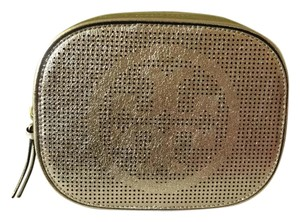 Tory Burch New!!! Tory Burch Logo Perforated Metallic