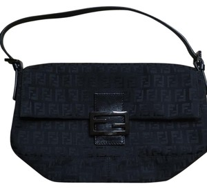 Fendi Black Clutch