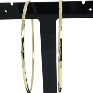 Other 14K Yellow Gold Large Hoop Earrings
