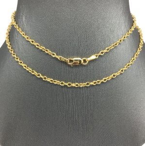 Other 14K Yellow Gold Double Rolo Chain 20 Inches