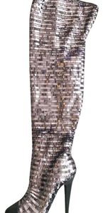 House of Deron silver Boots