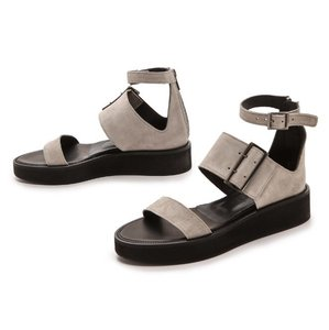 Helmut Lang stone gray Sandals