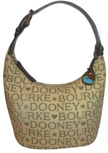 Dooney & Bourke Refurbished Monogram Lined Shoulder Bag