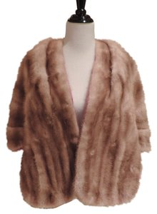 Other Fur Wrap Old Hollywood Glamour Real Fur Genuine Cape