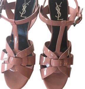 Saint Laurent Ysl Tribute Sandal Pump Platforms