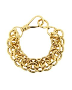 Tiffany & Co. TIFFANY & Co. Shlumberger designed 18kt gold link braceket -174 GRAMS SOLID GOLD!!!!!!
