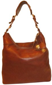Banana Republic Refurbished Brown Leather Lined X-lg Hobo Bag