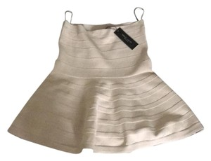 Romeo & Juliet Couture Mini Skirt beige