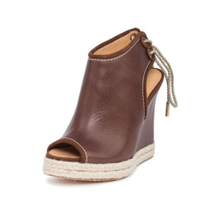 Dsquared2 Wedges Ankle Brown Boots