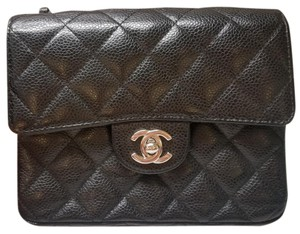 Chanel Caviar Flap Mini Quilted Cross Body Bag