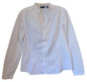 a.n.a. a new approach Button Down Shirt white