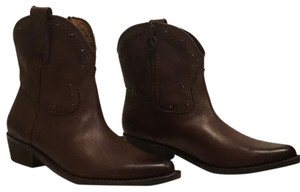 Lucky Brand tobacco Boots