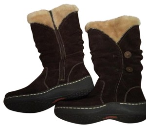 Bass Suede Pet And Smoke Free Faux Shearling Leather Boots