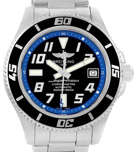 Breitling Breitling Superocean 42 Abyss Black Blue Dial Steel Mens Watch A17364