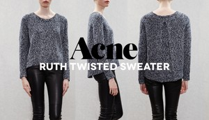 Acne Studios Ruth Twisted Sweater